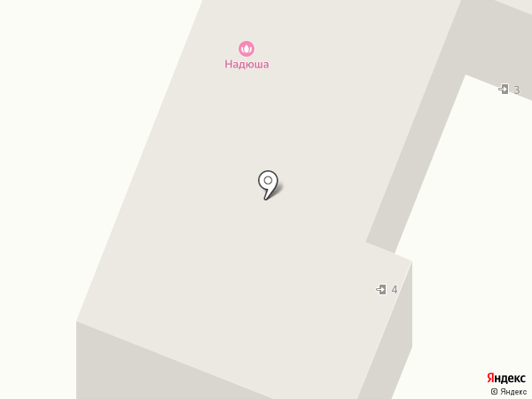 Надюша на карте Курска
