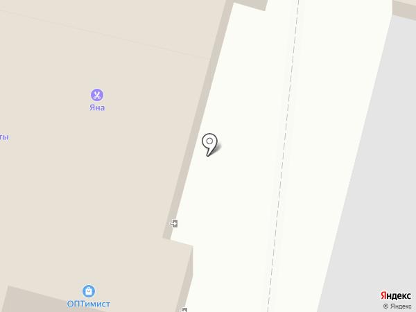 СКЛ на карте Курска