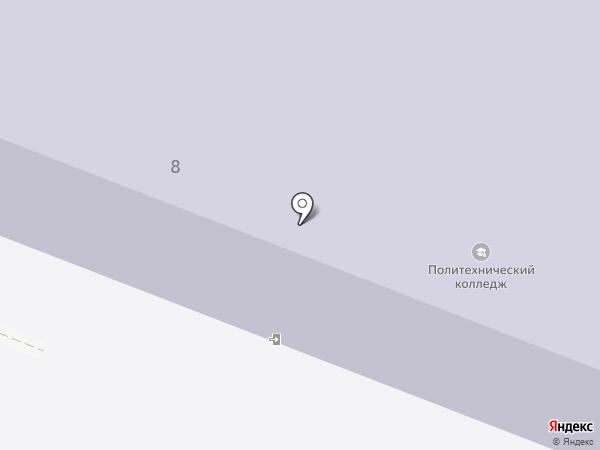 Курский государственный политехнический колледж на карте Курска