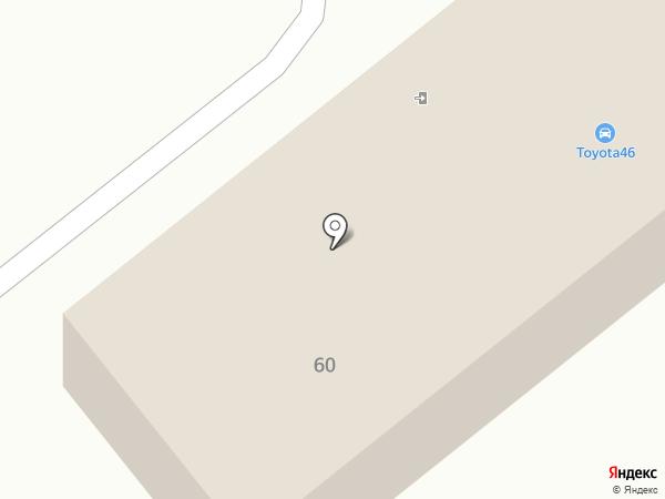 Автосервис по ремонту Toyota, Lexus на карте Курска