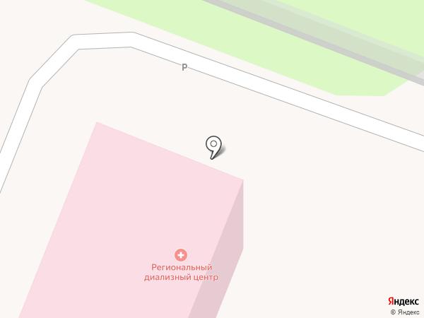 Курская областная ассоциация врачей, НП на карте Курска