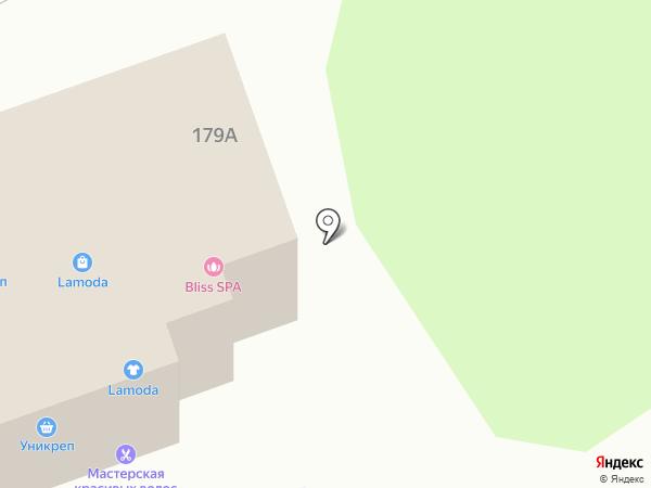 Дом дверей на карте Курска