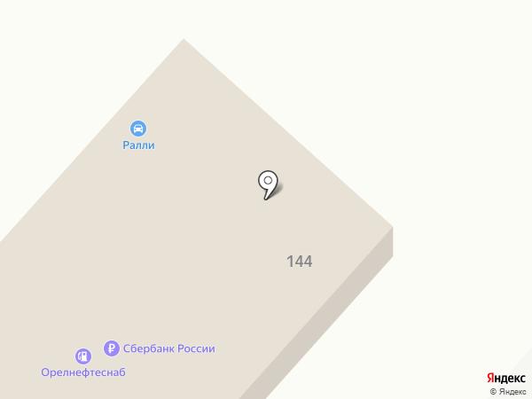 Пункт технического осмотра на карте Орла