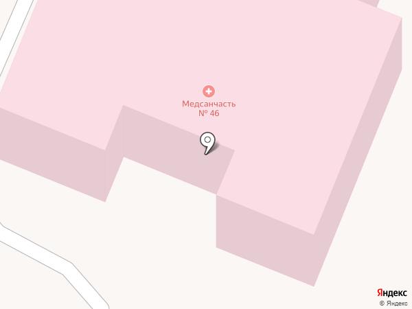 Центр медицинской и социальной реабилитации УФСИН России по Курской области на карте Курска