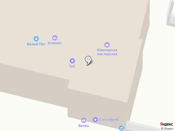 Мания золота на карте Курска