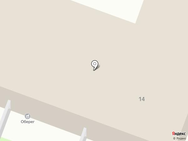 Оберег на карте Курска