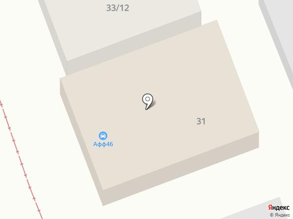Автосфера на карте Курска