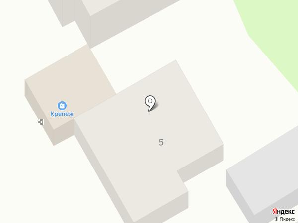 Магазин крепежа и сантехники на карте Курска