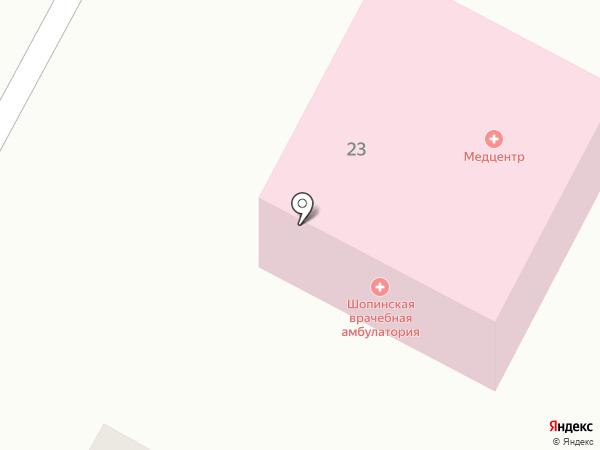 Врачебная амбулатория на карте Шопино