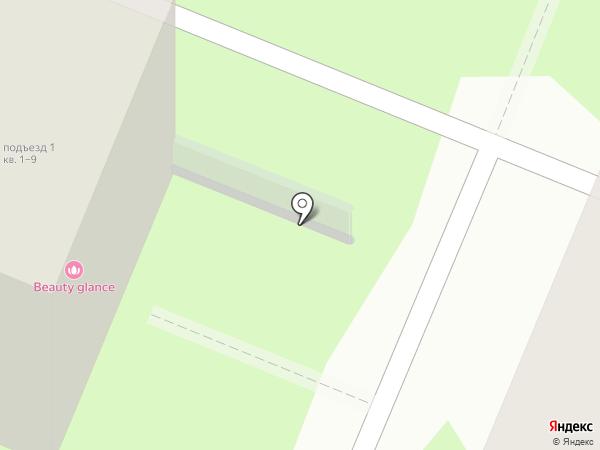 Beauty glance на карте Курска