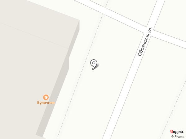 Булочная на карте Курска