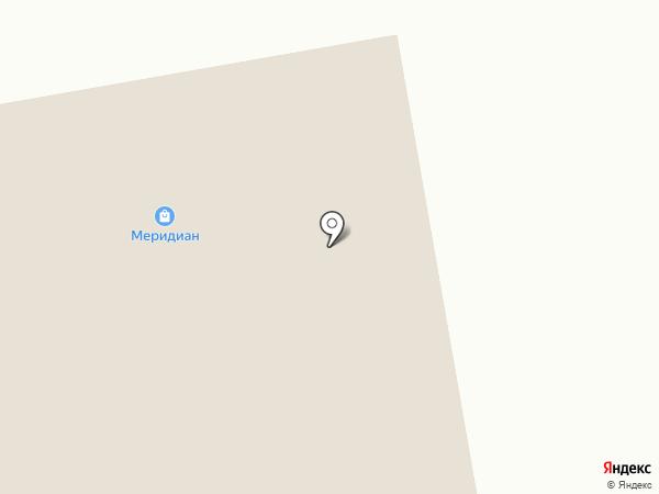 Меридиан на карте Курска