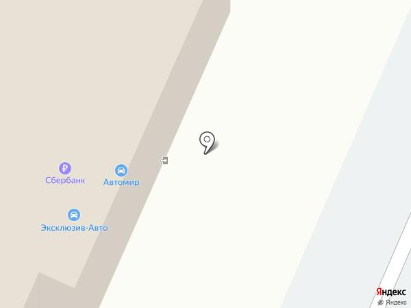 Автомир на карте Курска