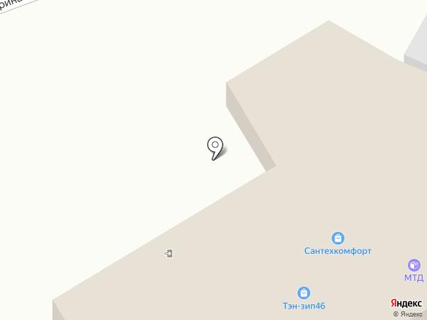 Магазин автозапчастей для ВАЗ на карте Курска
