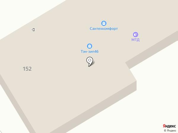 Магазин автотоваров для Renault на карте Курска