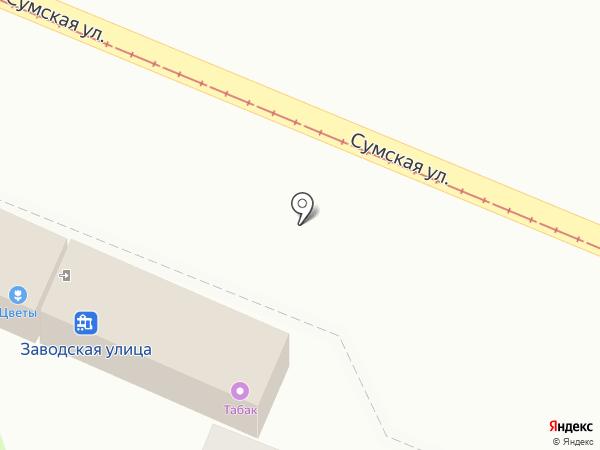 Сеть салонов цветов и праздничного оформления на карте Курска
