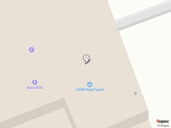 Калуга-Лада на карте Калуги