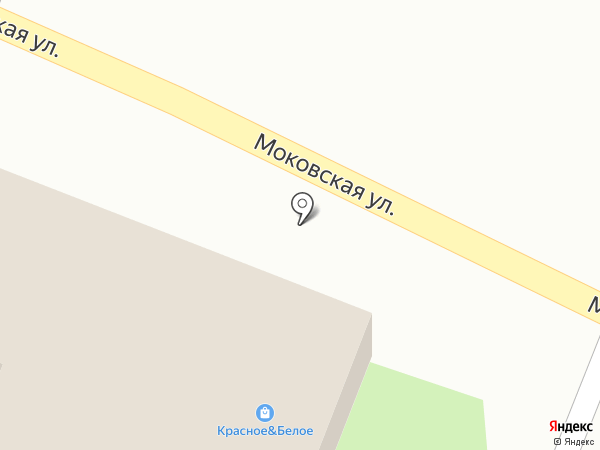 Корта на карте Курска