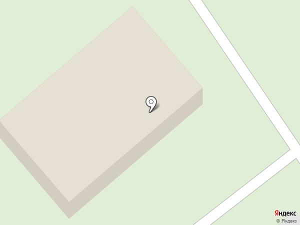 Северное кладбище на карте Курска