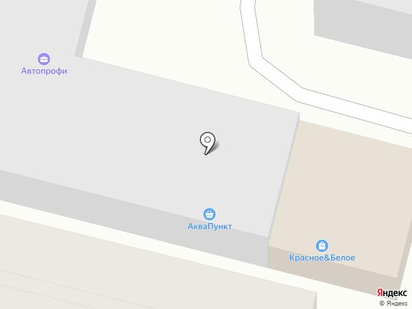 Аквапункт на карте Курска