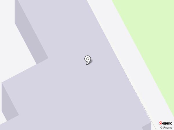 Средняя общеобразовательная школа №9 на карте Курска