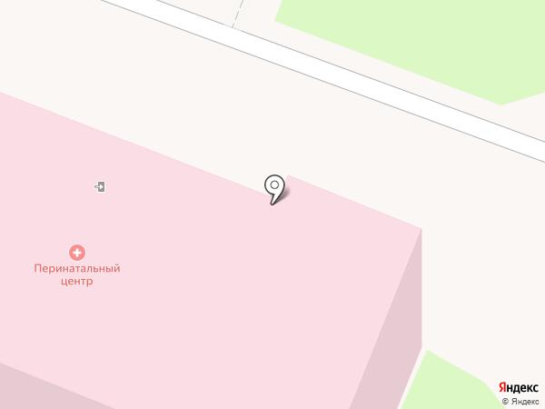 Курский городской клинический родильный дом на карте Курска