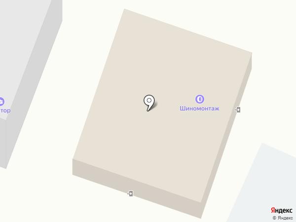 Установочный центр на карте Курска