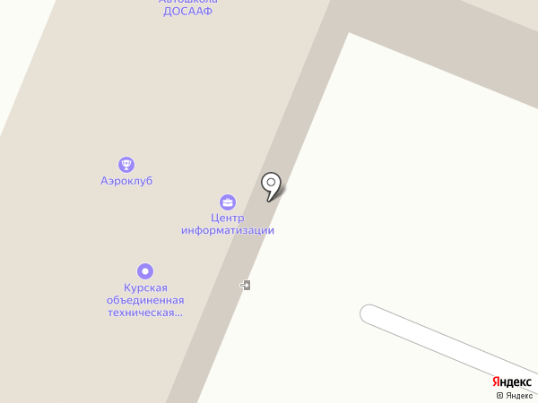 Центр информатизации на карте Курска