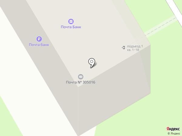 Почтовое отделение №16 на карте Курска