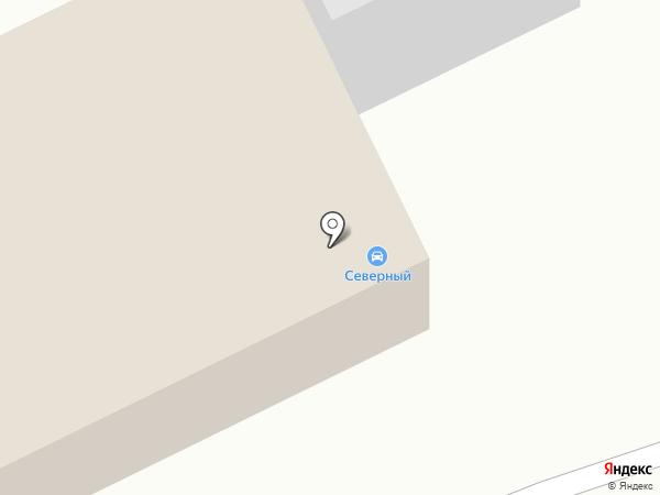 Автостоянка на карте Курска