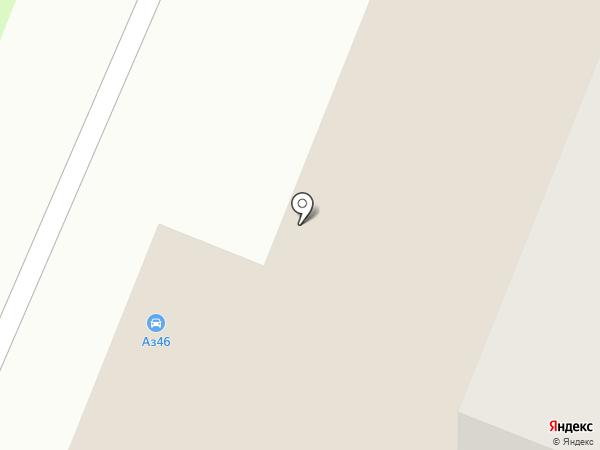 АвтоЗвук 46 на карте Курска