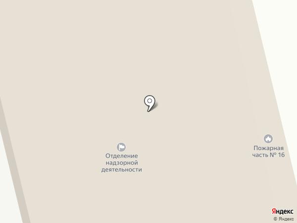 Пожарная часть №16 на карте Курска