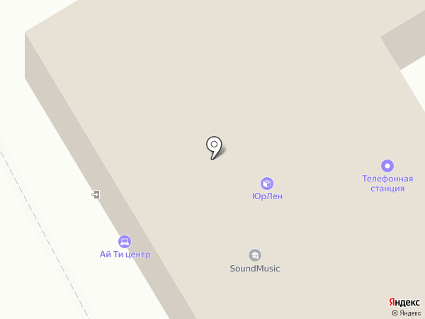 КРИСП на карте Курска