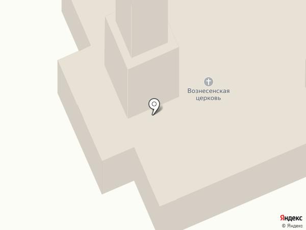 Храм Вознесения Господня на карте Курска