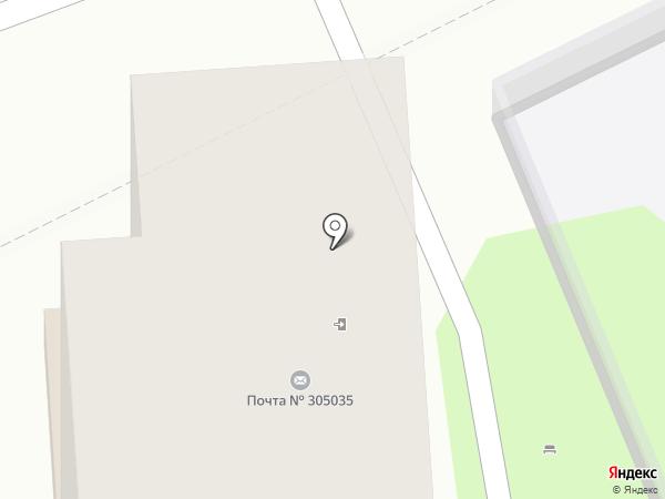 Почтовое отделение №35 на карте Курска