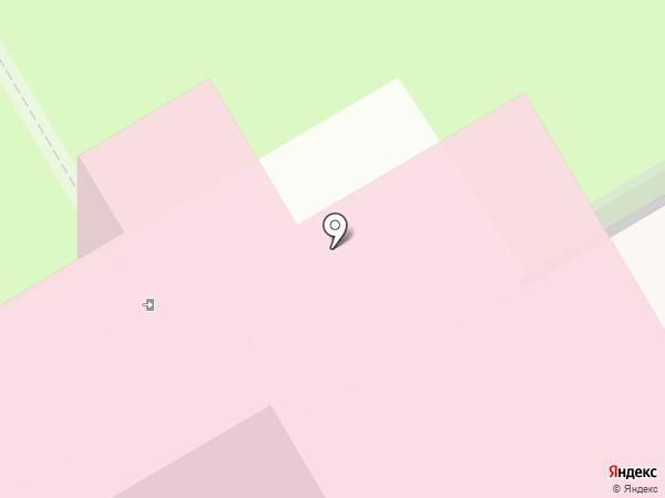 Областная детская клиническая больница на карте Курска