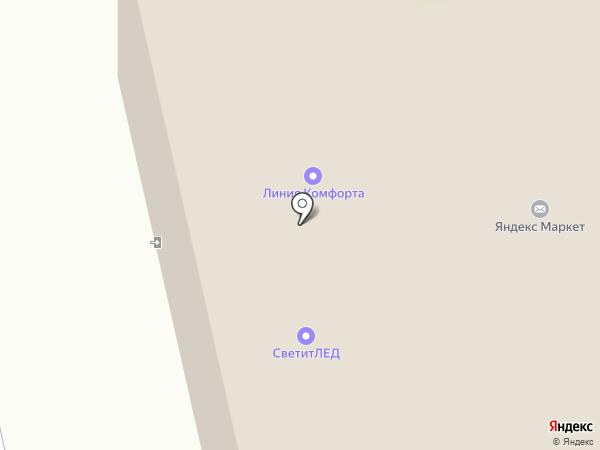 Тиккурила Курск на карте Курска