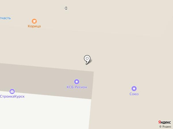 Союз на карте Курска