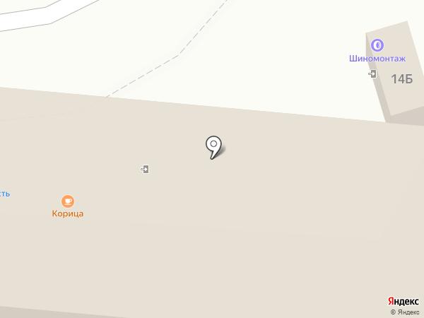 Магазин автозапчастей на карте Курска