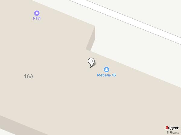АВА Технолоджис на карте Курска