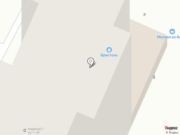Бристоль на карте Калуги