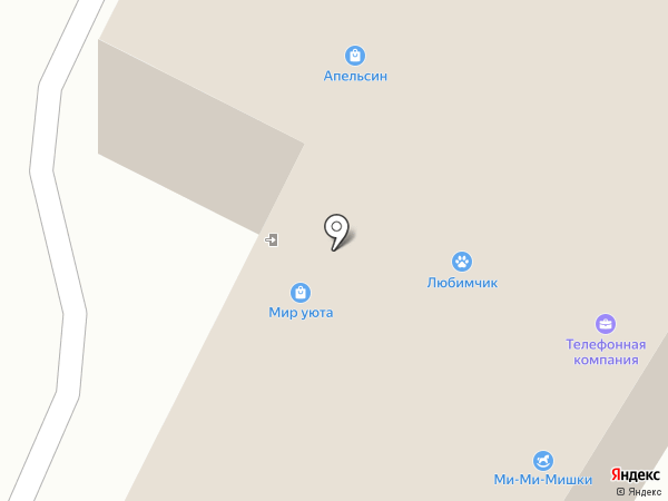 Ми-Ми-Мишки на карте Калуги