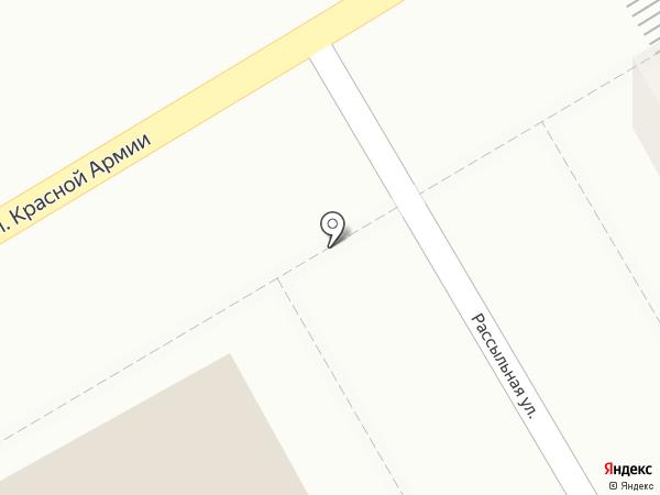Перекат на карте Курска