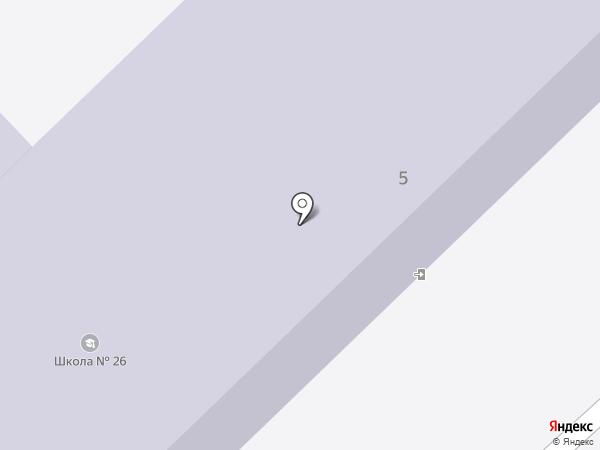 Средняя общеобразовательная школа №26 на карте Калуги