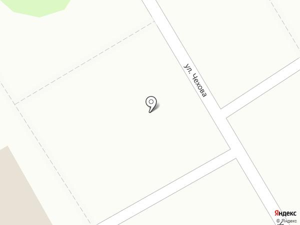 Магазин по продаже фруктов и овощей на карте Курска
