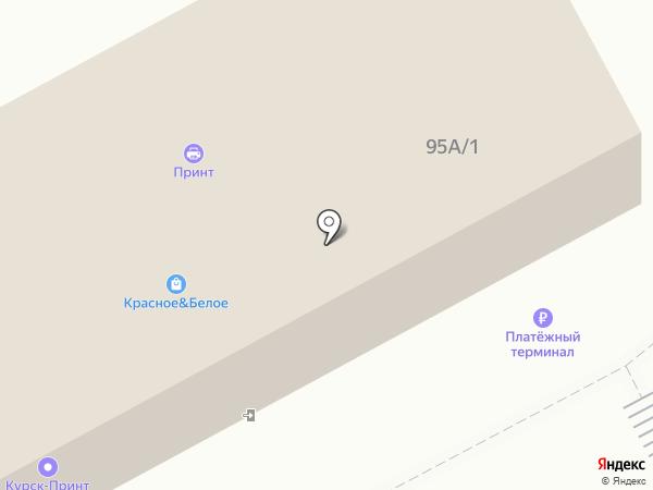 Эдем на карте Курска