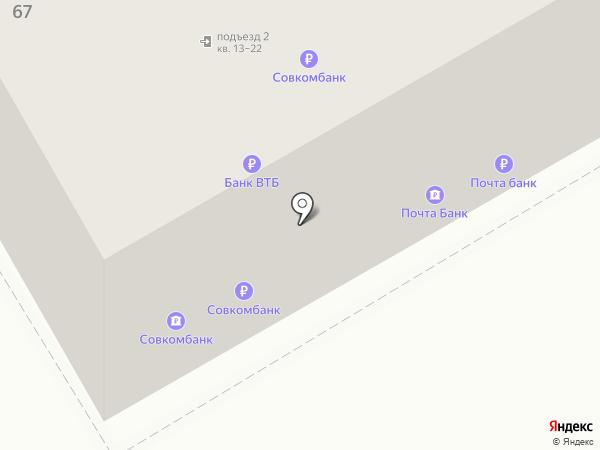 Совкомбанк, ПАО на карте Курска