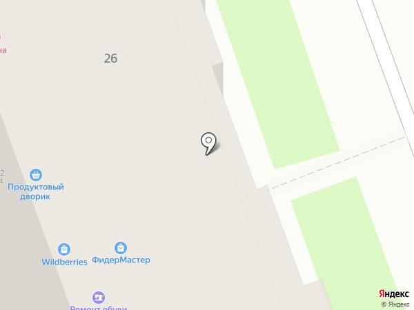 Леди-Икс на карте Курска