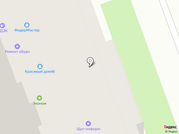 Щит-СБ на карте Курска