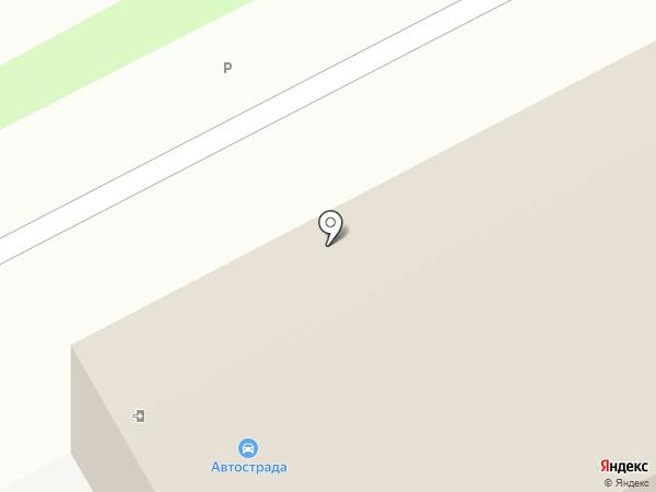 АВТОСТРАДА на карте Курска
